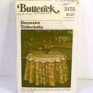 Decorator Tablecloths Butterick Pattern 3175 3 sizes Uncut
