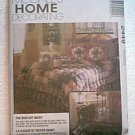 Biscuit Quilt Sham Throw Dust Ruffle McCall's Pattern 2449 3 Sizes Uncut