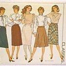 Misses Skirt Butterick Sewing Pattern 4618 Sz 6 8 10 Uncut
