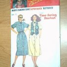 Misses Dress Reversible Vest Time Saving Shortcuts Butterick Sewing Pattern 6421 Sz C 12 14 16 Uncut