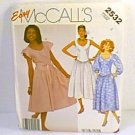 McCalls Easy Dresses Sewing Pattern 2532 Sz 8 Uncut