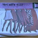 Skirt 6 Lengths McCalls Sewing Pattern 4132  W24 L33.5 Uncut