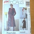 Womans Day Collection Cut to Fit Vest Dress Jumpsuit McCalls Sewing pattern 5028 Sz B 8 10 12 Uncut