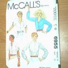 Misses Tops Tie Sleeves McCalls Sewing Pattern 6955 Sz 14 - 36 Cut