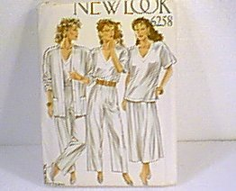 6 in 1 Tops Skirt Pants New Look Sewing Pattern 6258 Sz 8 - 18 Uncut