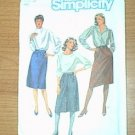 2 Misses Slim Fitting Skirts Simplicity Sewing Pattern 6624 Sz 16 Miss Uncut