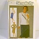 Misses Dress & Lined Jacket Simplicity Sewing Pattern 6797 Sz 16 Miss Uncut