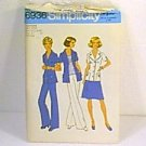 ½ Size Unlined Jacket Skirt Pants Simplicity Sewing Pattern 6936 Sz 18½ 20½ Uncut