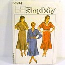 Misses Dress Adjustable for Petite Simplicity Sewing Pattern 6941 Sz 6 Miss Uncut