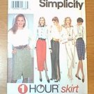 One Hour Skirt Misses Set of Skirts Simplicity Sewing Pattern 8747 Sz XS S Med Uncut