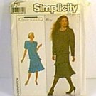 Misses Dress Jane Schaffhausen Belle France Simplicity Sewing Pattern 8861 Sz 10 Uncut
