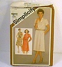Misses Pullover Dress 3 Versions Simplicity Sewing Pattern 9865 Sz 14 Miss Uncut