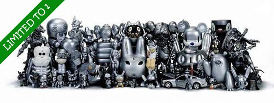 ToyGiant Silver Edition - Signed & Numbered