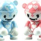 Artist Series - Valentine's Day Blue & Pink Couple Set