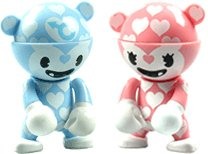 Artist Series - Valentine's Day Blue & Pink Couple Set