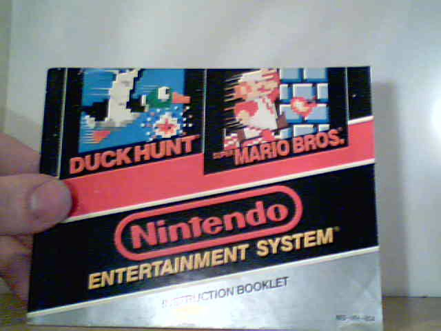 Super Mario Bros. / Duck Hunt - Instruction Manual
