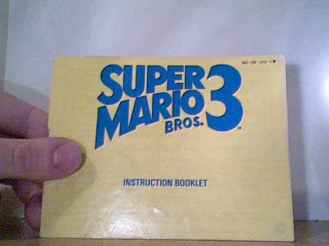 Super Mario Bros. 3 - Instruction Manual