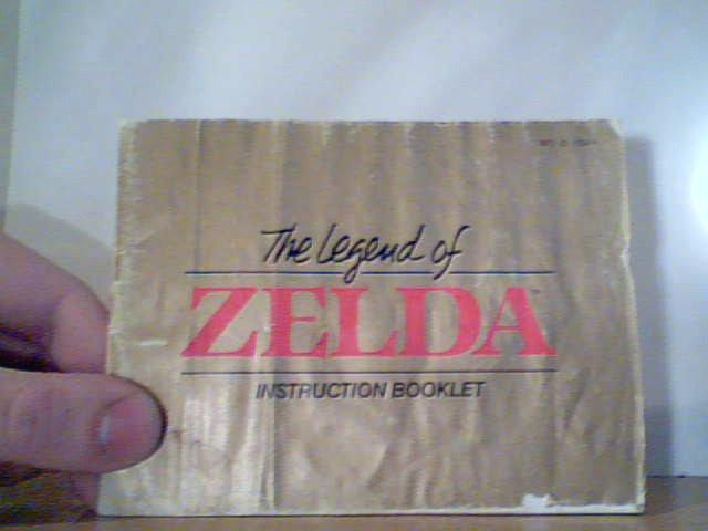 The Legend of Zelda - Instruction Manual