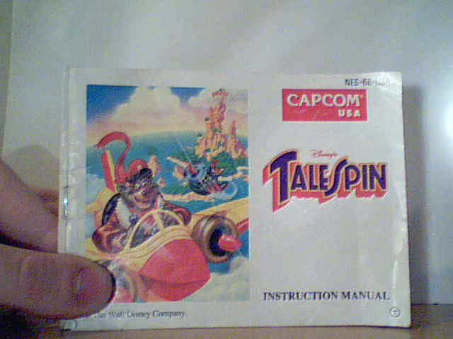 Tale Spin - Instruction Manual