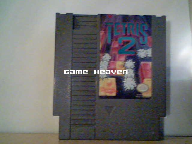 Tetris 2 - Blue Text Label