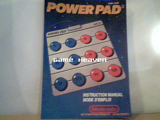 Power Pad Instruction Manual