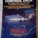 NES Control Deck Large Instruction Manual