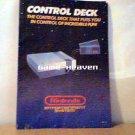 NES Control Deck Smaller Instruction Manual