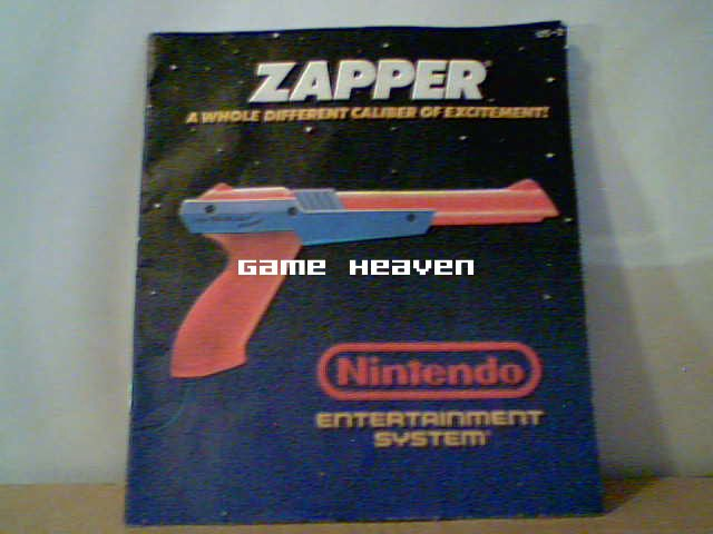 NES Zapper Manual (Orange)