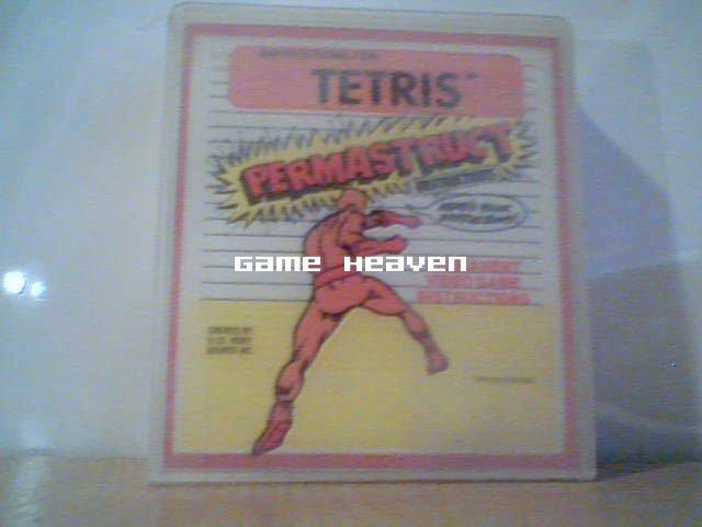 Eraplast Brand Plastic NES Game Case - Tetris Instructions Inside RARE