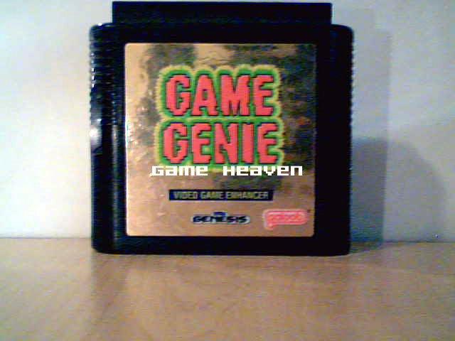 Sega Genesis Game Genie