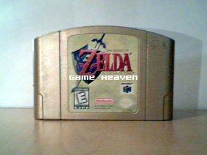 The Legend of Zelda: Ocarina of Time - Gold