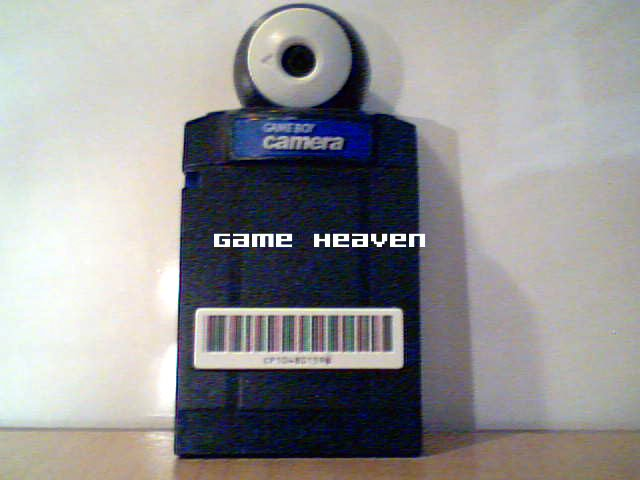 Game Boy Color Camera (Blue)