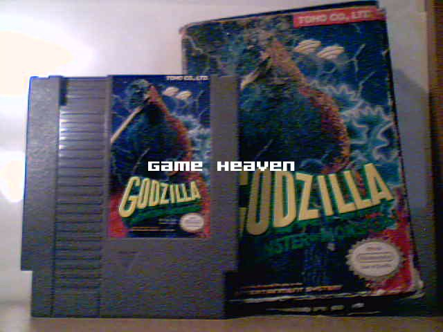 Godzilla: Monster of Monsters - NES - Boxed