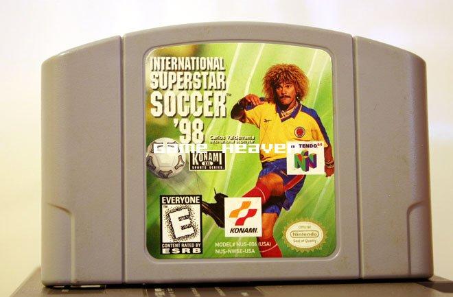 International Superstar Soccer '98 - N64