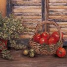 """FRUITS AND FLOWERS OIL PAINTING ON CANVAS 20""""X24"""""""