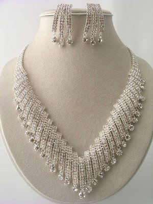"""Marilyn"" Designer Necklace/Earring Set Reg $119.99"