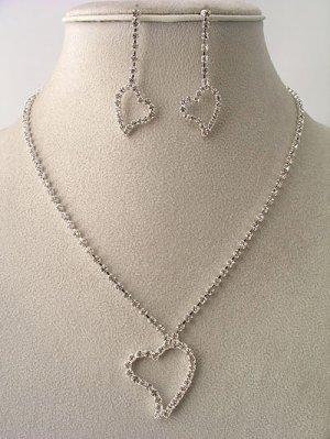 Pure Simple Love Necklace/Earring Set Reg $39.99