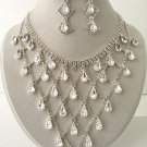 """Victorian Drops"" Designer Necklace/Earring Set Reg $139.99"
