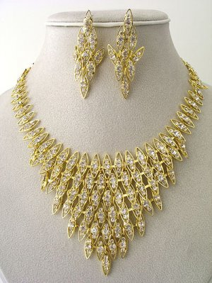 """Venecian"" Designer Necklace/Earring Set Reg $69.99"
