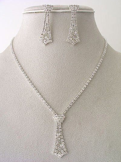 Designer Mini-Necktie Necklace/Earring Set Reg $49.99