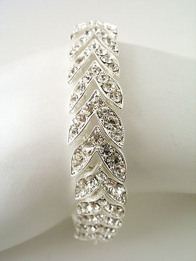 """8"""" Rhinestone Bracelet Reg $59.99"""