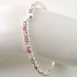 Open End Rhinestone Bangle