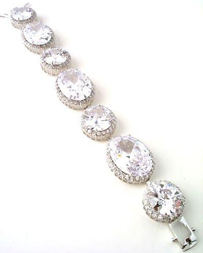 Victorian elegant CZ Bracelet Reg $179.99