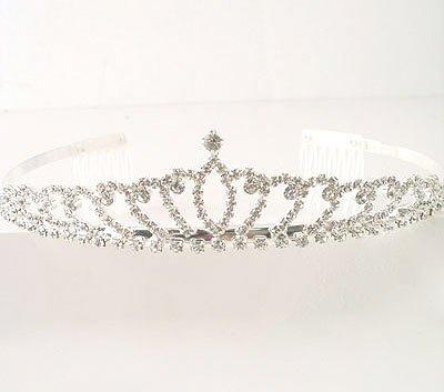 """Prom Queen"" Rhinestone Tiara Reg $49.99"