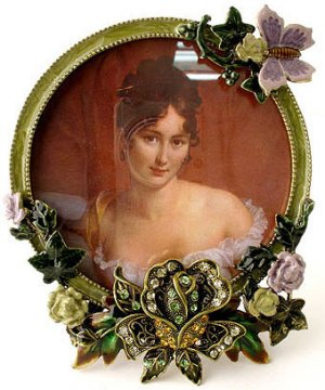 Brown/Copper Stand Alone Victorian Style Picture Frame Reg $59.99