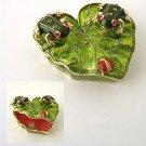Frog / Ladybug Jewelry Box Reg $54.99