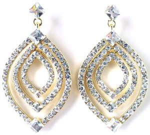2 Inch Magnificent Victorian Earrings Reg $49.99