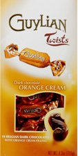 Guylian Chocolate Twist Boxes dark orange cream