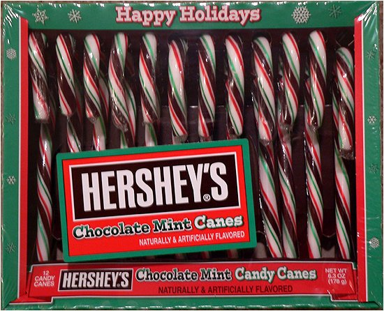 Happy Holiday Hershey's Chocolate mint