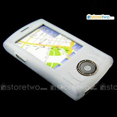 Silicon Case for Dopod P800W / T-Mobile MDA Compact III - White